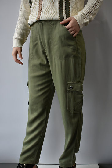 Huxlee Cropped Cargo Pant