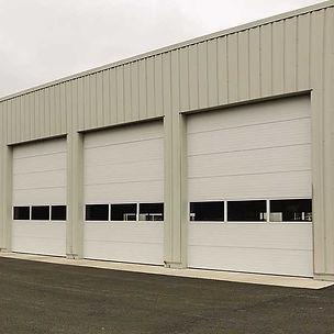 insulated-sectional-steel-door-model-150