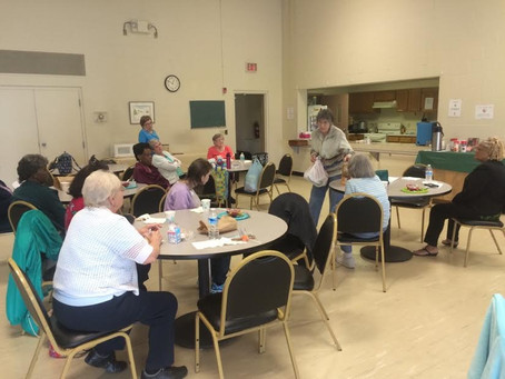 Rutherford House Members Enjoy a Taste of Culture