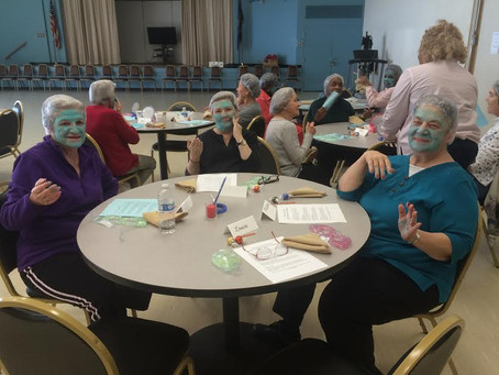 Rutherford House Members Enjoy Spa Day