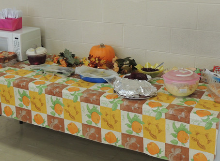 Thanksgiving Buffett/ Birthday Luncheon