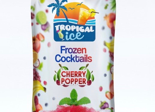 Tropical Ice Cocktails - Cherry Popper