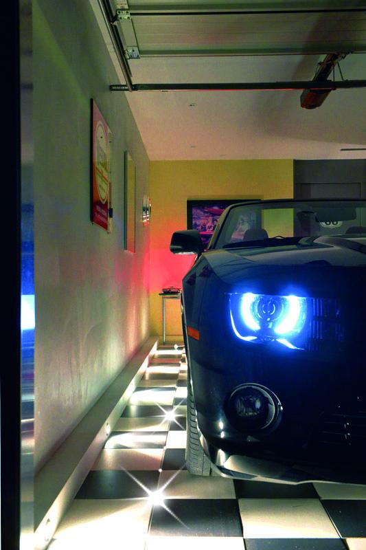 Licht Design Garagenveredelung