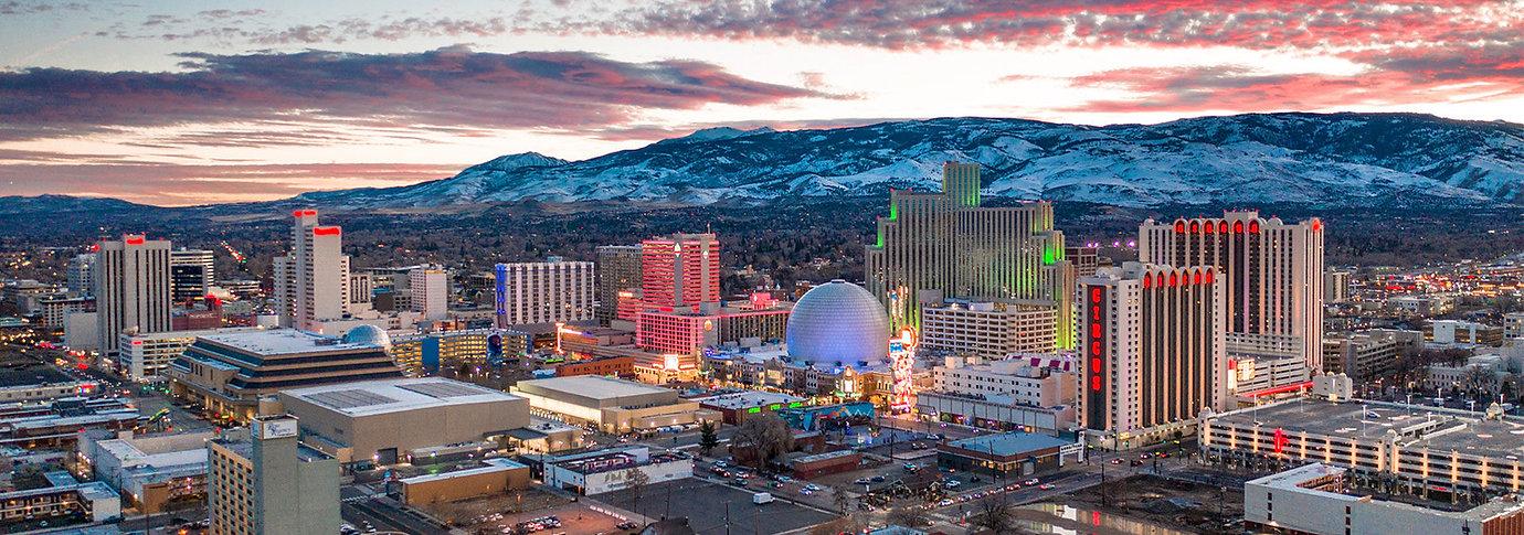 View of Reno, Nevada