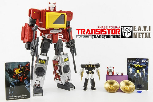 KFC - EAVI METAL Phase Four: A - Transistor Pure Red Color - Reissue