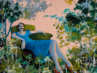 'The Major's Garden' Selected for the Royal Academy Summer Exhibition 2020 (6th Oct - 3rd Jan)