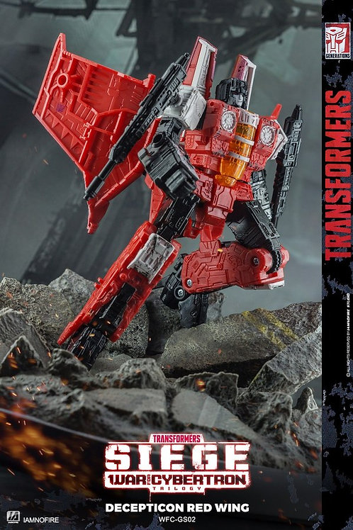 Transformers Generations Selects Red Wing