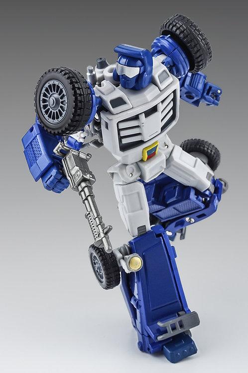 X-Transbots - MM-VIII - Arkose - G1 Color - Metallic color