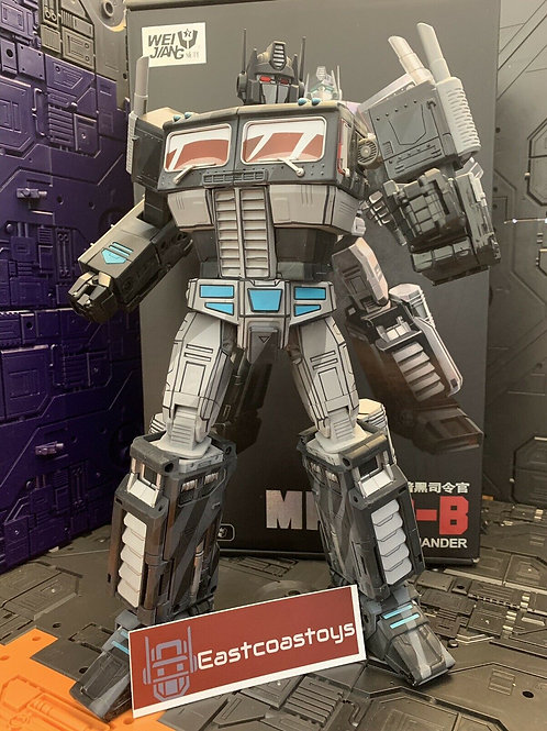 Custom Cell Shade Painted MPP10 Nemesis Prime