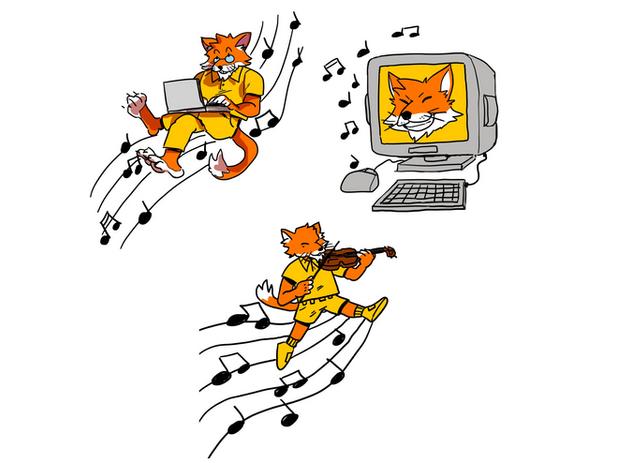 'Fox' Logo Commission
