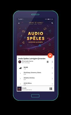 audio spēles google play