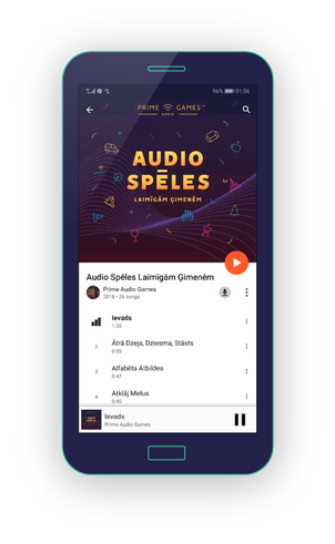 audio spēles google play
