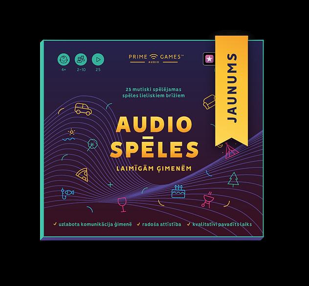 prime audio games audio speles CD jaunum