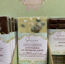 Fitness Schokolade € 5,30 100g