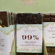 99% Schokolade € 5,30 100g