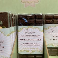 Mulato-Chili 64% Schokolade € 5,30 100g