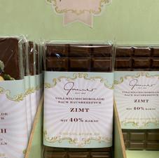 Zimt Schokolade € 5,30 100g