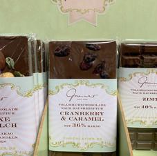 Cranberry & Caramel Schokolade € 5,30 100g