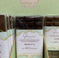 Mocca Schokolade € 5,30 100g