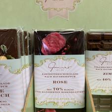 Rose Schokolade € 5,30 100g