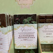 Kandierte Minzblüten Schokolade € 5,30 100g