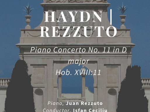 Our Haydn Piano Concerto in D Major Hob XVIII:11 by Juan Rezzuto in Sintra, Portugal