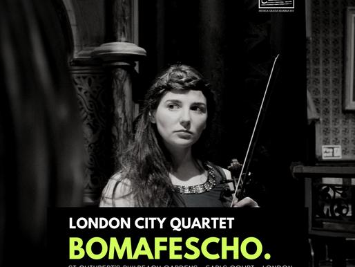 Musical World Premieres - London City Quartet
