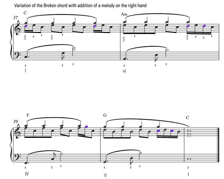 piano accompaniments
