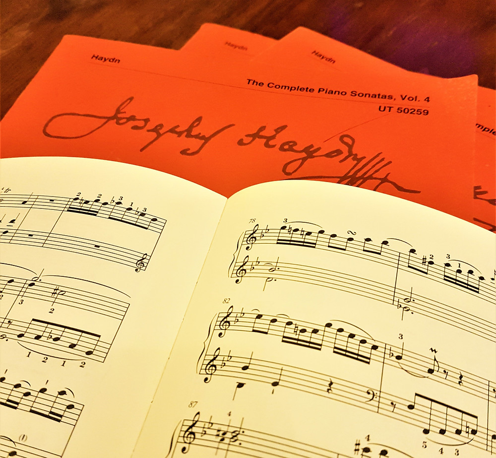 How to analyse Haydn Piano Sonatas