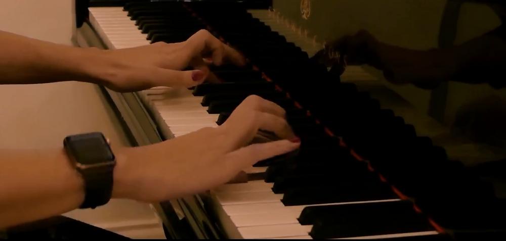 solid piano technique
