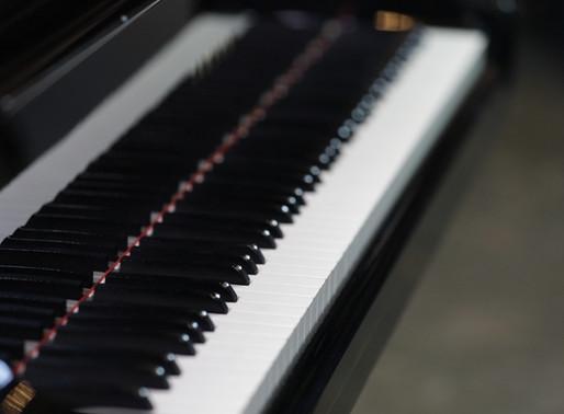 How many keys does a piano have?