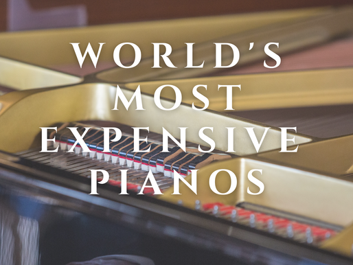 World's Most Expensive Pianos