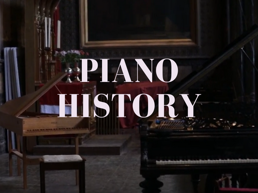 Piano History: ¿When was the piano invented?