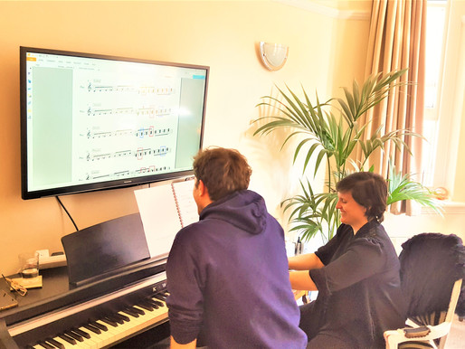Harmonisation with Diatonic Triads in minor mode