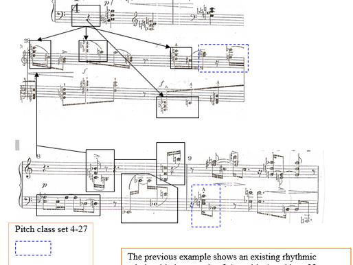Analysis of Klavierstücke Op. 33 a by A. Schoenberg – Part I