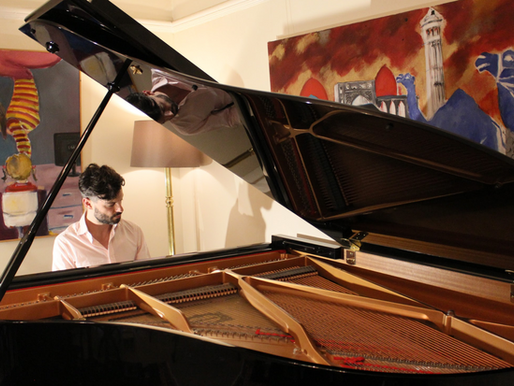 Piano recording sessions by WKMT