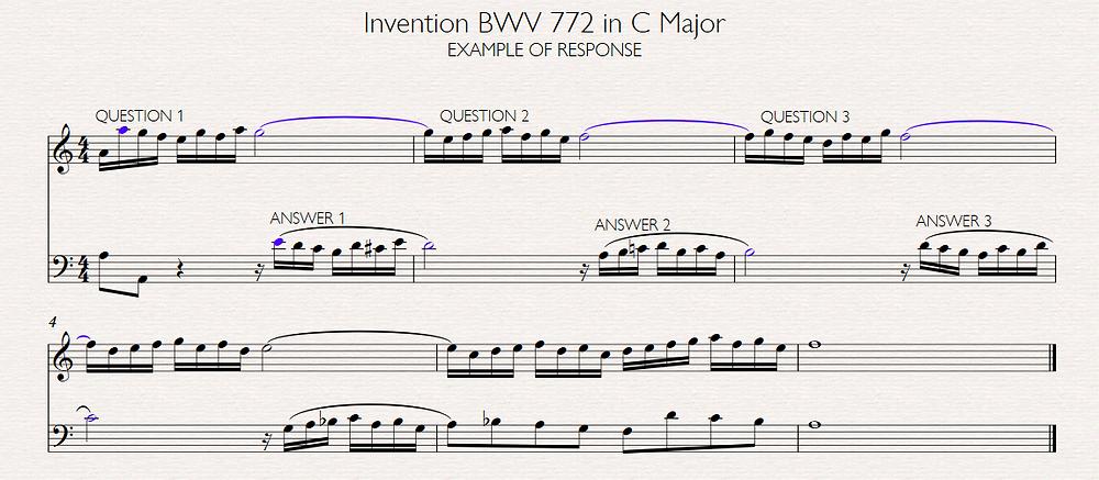 Invention BWV 772 Bach