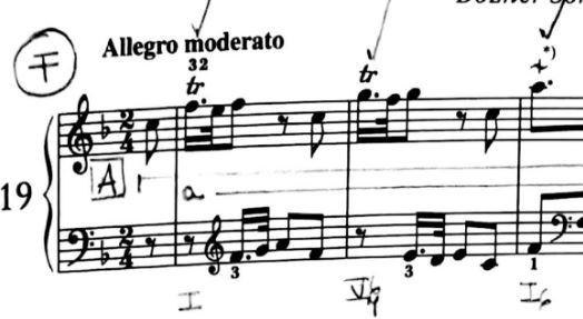 Haydn Sonata in F Hob. XVIF3 Bozner