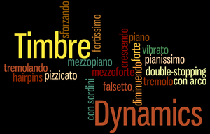 The importance of defining dynamics when preparing our pieces