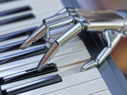 Artificial Intelligence making music.