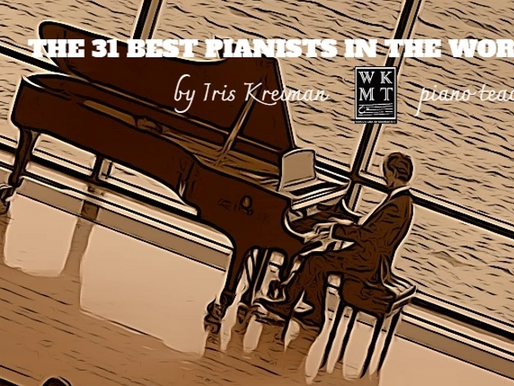 The 31 Greatest Pianists of all time