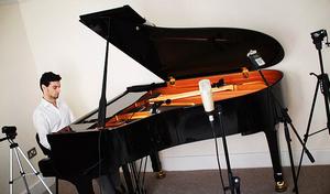 piano recording studio london