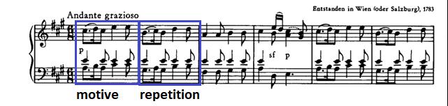 Sonata K 331 in A major Mozart