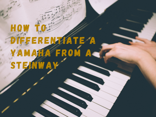 How to differentiate a Yamaha from a Steinway