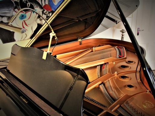 Eating piano scores by Juan Rezzuto