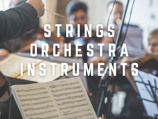 Strings Orchestra Instruments