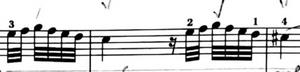 haydn Sonata in F XVIF3  1st movement / development