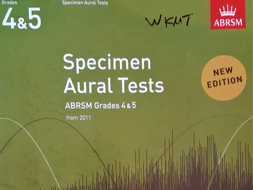 How to prepare the Aural Test - Grade 4