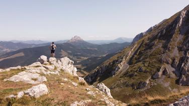 Basque mountains
