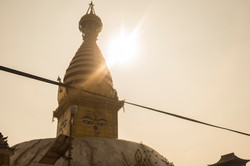 Estupa budista en Patán